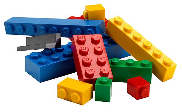 Lego em tamanho real