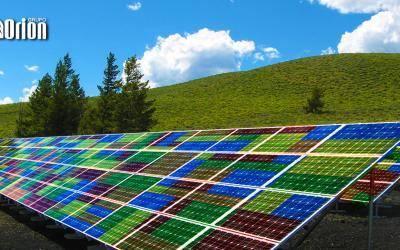 Painéis solares estilo Lego
