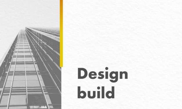 Design-build une agilidade, economia e praticidade em construções